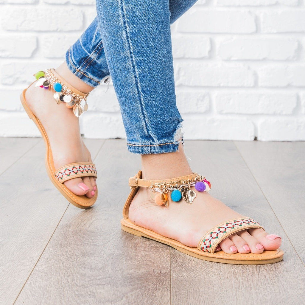 Womens Wild and Free Festival Sandals - Bamboo Shoes