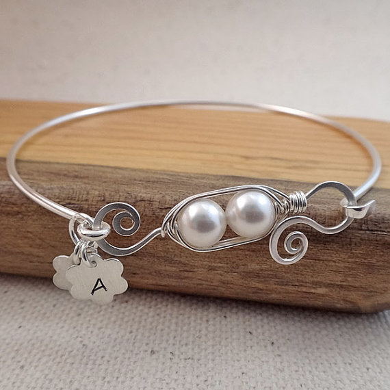 Peas in a Pod - Bracelet or Necklace