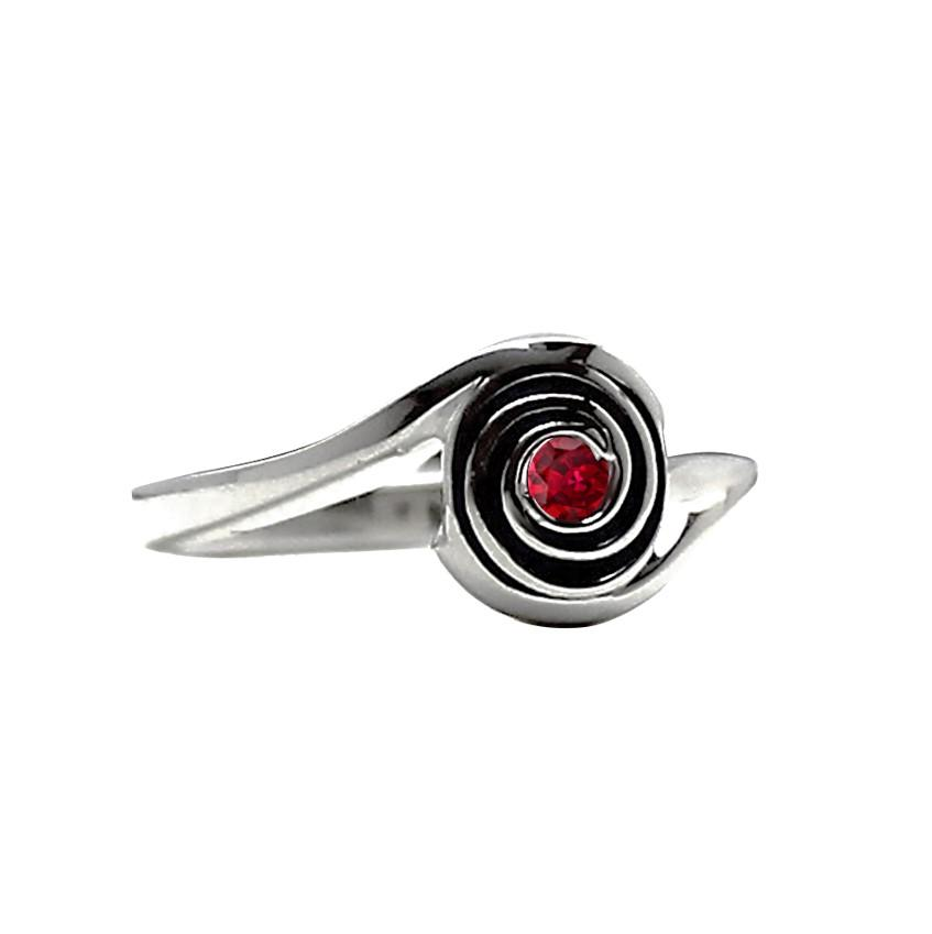 Mother's Ring Platinum Jewelry, birthstone and engraved, gift for mom and wife