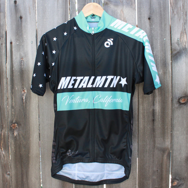 E17 Men's Cycling Jersey in Celeste