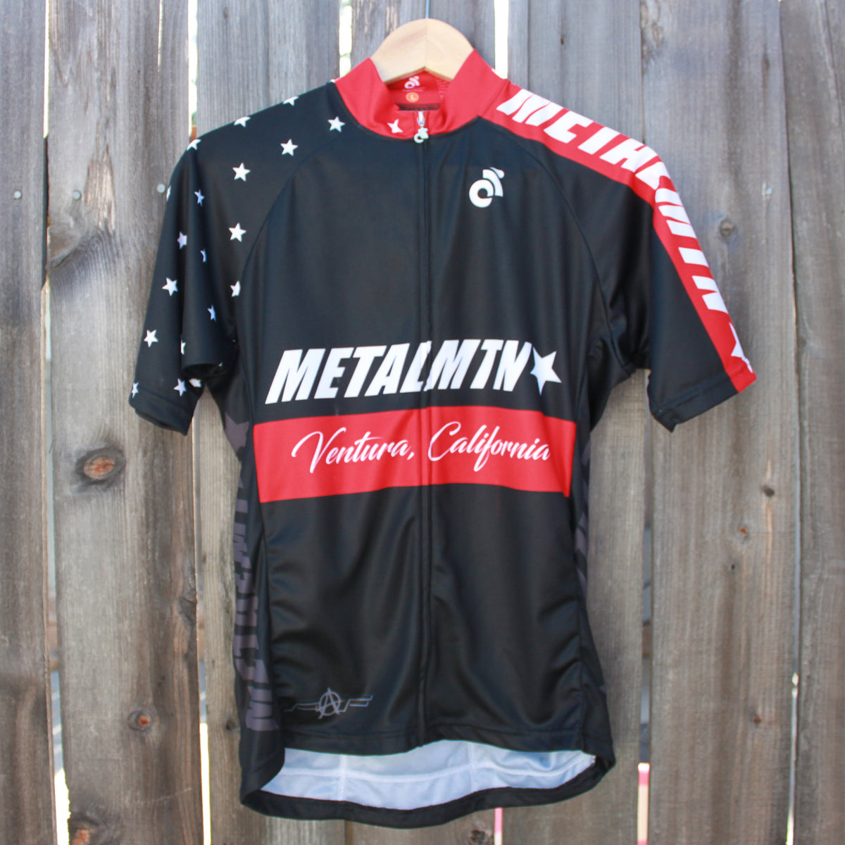 E17 Men's Cycling Jersey in Red