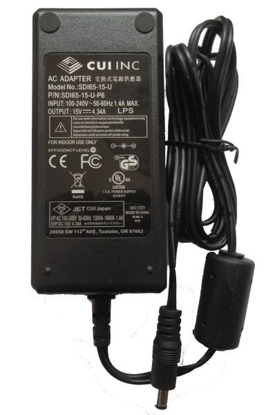 PA15-43-1 15V 4.3A Power Adapter
