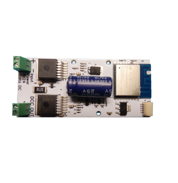 WDMI-24 Wi-Fi/DCC Locomotive Interface Module for Large Scales
