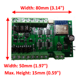 WFG-80 8-Way Wi-Fi Lighting and General Purpose Controller