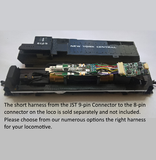 WMH-20 Harnessed Wi-Fi Locomotive Controller for HO Locos