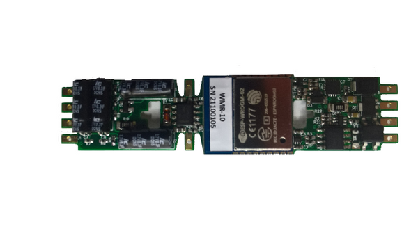 WMR-10 Board Replacement Wi-Fi HO Locomotive Controller with Keep-Alive