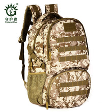 "Men's bags backpack  backpacks 35 litres travel 15.6"" Laptop high grade wearproof  camouflage multi-functional  Large  bag milit"
