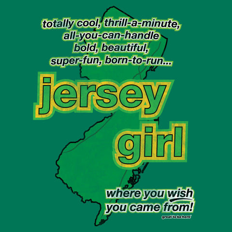 Jersey Girl Women's Fashion T-Shirt