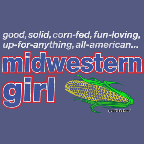 Midwestern Girl Women's Fashion T-Shirt