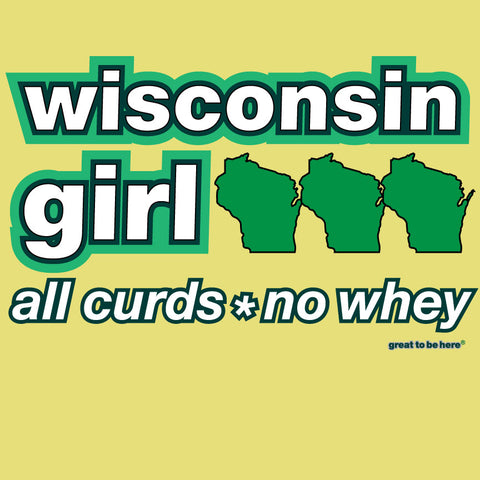 Wisconsin Girl T-Shirt / Wisconsin Women's Shirt / Wisconsin T-Shirt