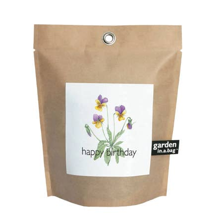 Happy Birthday Garden in a Bag
