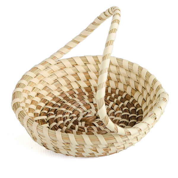 Rings and Things Sweet Grass Basket