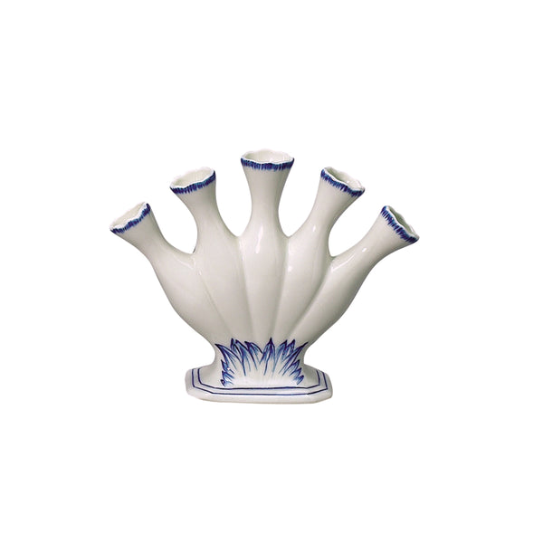 Blue in Bloom Finger Vase