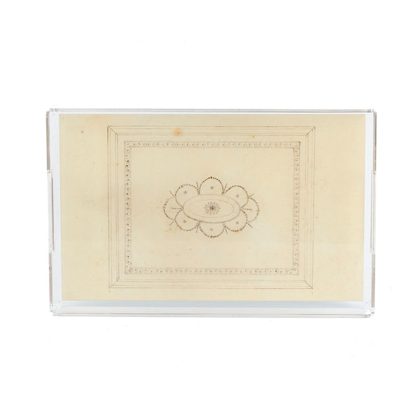 Gibbes Ceiling Sketch Acrylic Tray