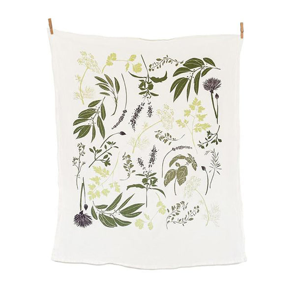 Garden Inspired Tea Towel