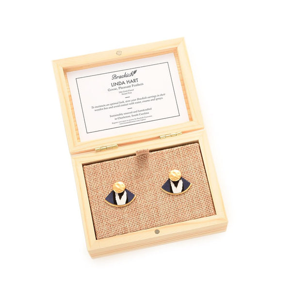 Linda Hart Earrings by Brackish
