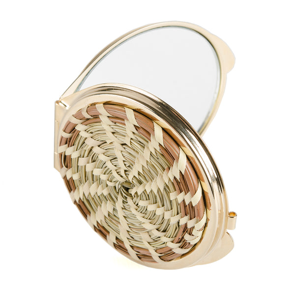 Sweet Grass Compact Mirror