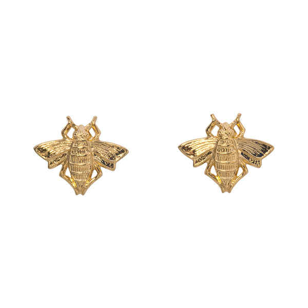 Goldbug Bee Earrings