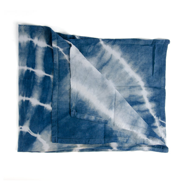 Indigo Flour Sack Kitchen Towel