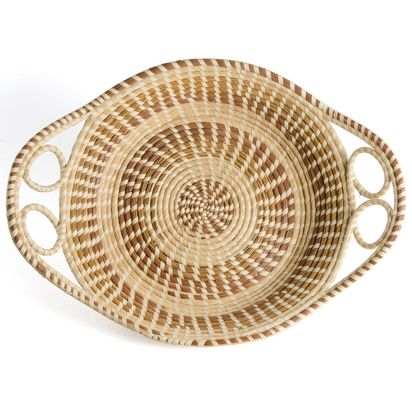 Double Loop Bread Basket