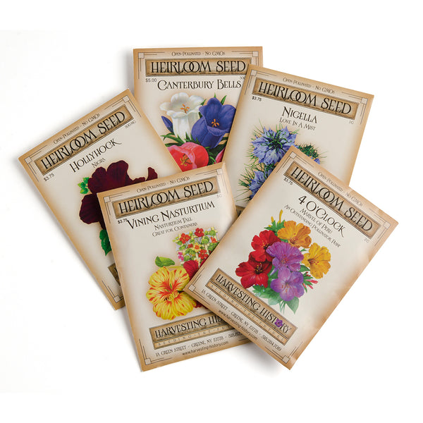 Colonial Heirloom Seed Collection