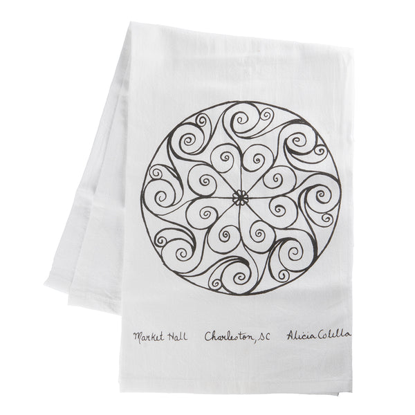 Charleston Gate Tea Towel