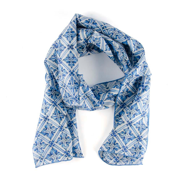 Drayton Hall Exclusive Delft Tile Scarf