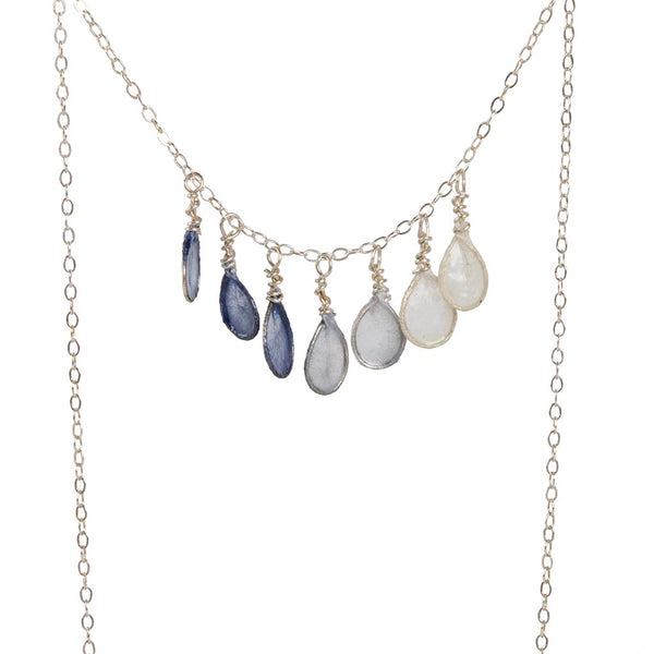 Indigo Morning Dew Necklace