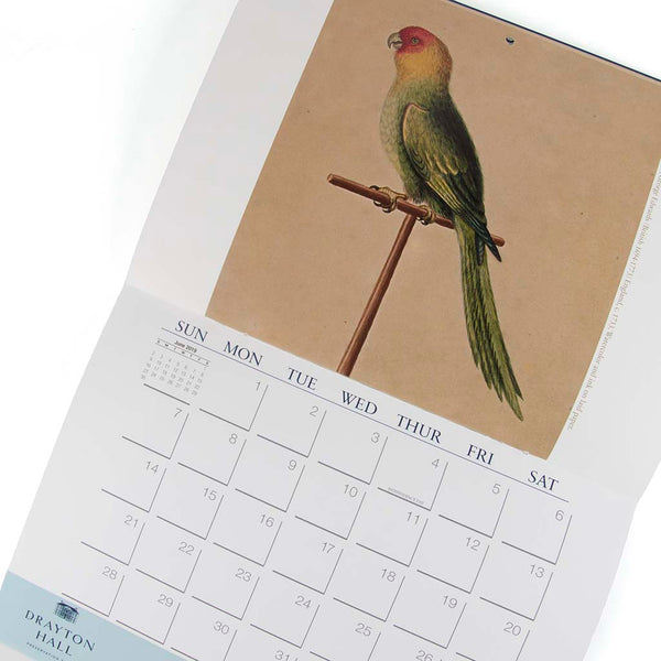 George Edwards Watercolors Calendar 2019