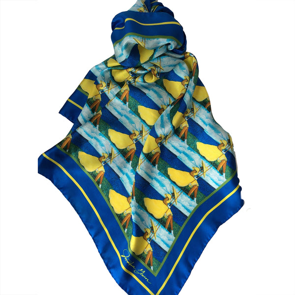 The Sea Swing Scarf by Jonathan Green