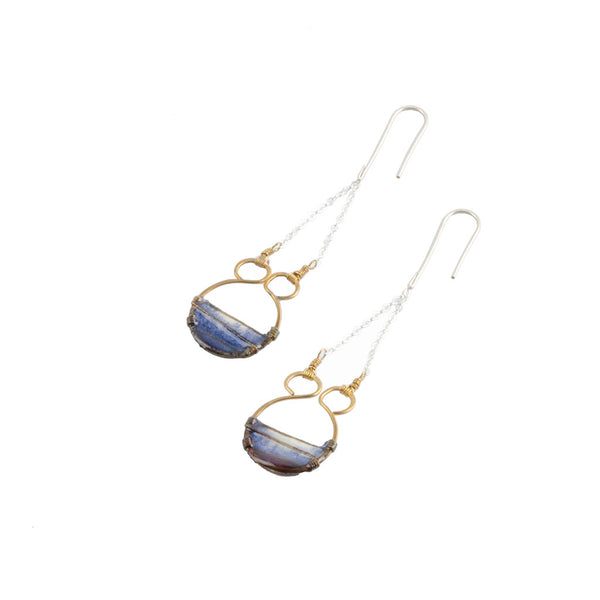 Indigo Gate Earrings by Verso