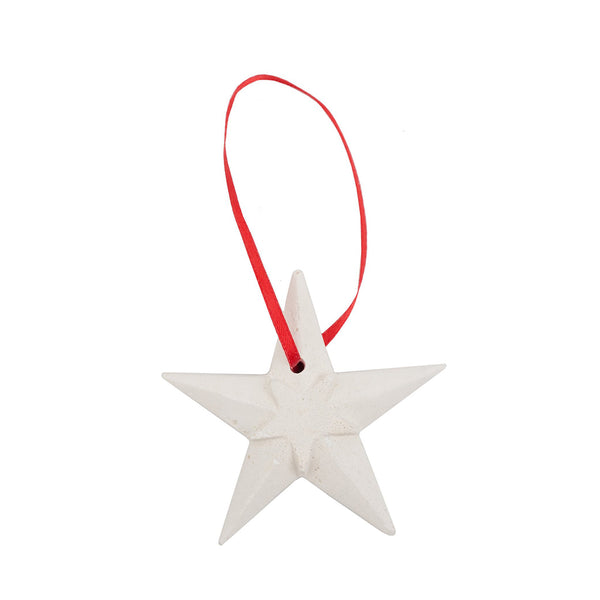 Great Hall Star Plaster Ornament
