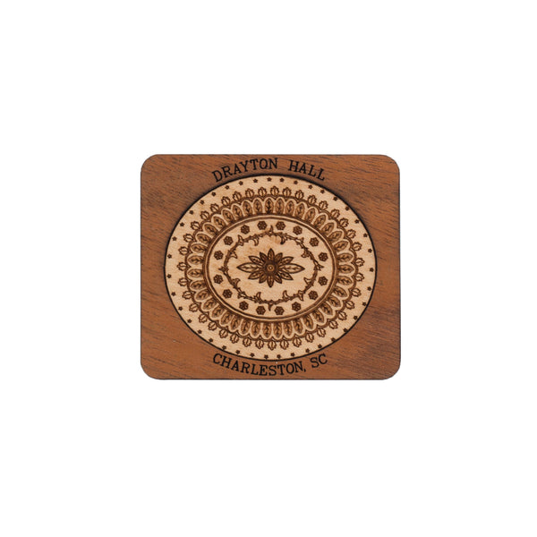Ceiling Medallion Wooden Magnet