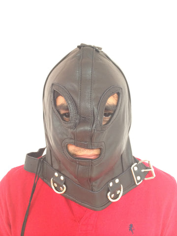 Absolute Kinky Extraterrest Leather Hood