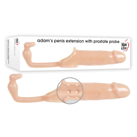 Adam & Eve Adam's Penis Extension With Anal Leash