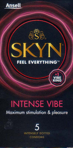 Ansell Skyn Intense Vibe Condoms
