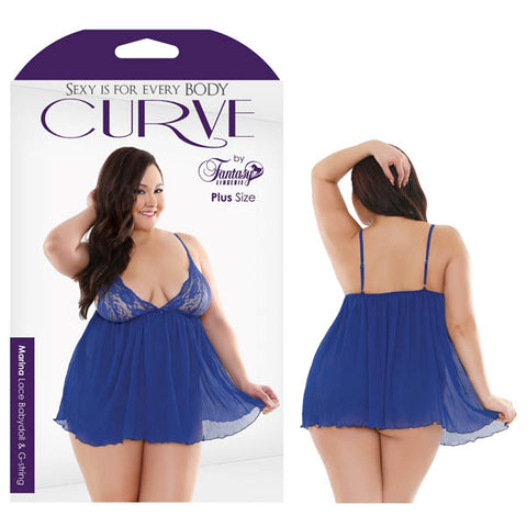 Curve Marina Lace Babydoll & G-String