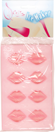 Sexy Ice Maker Tray (Pink Lips)