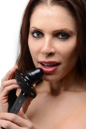 Beginners Penis Mouth Gag (Black)