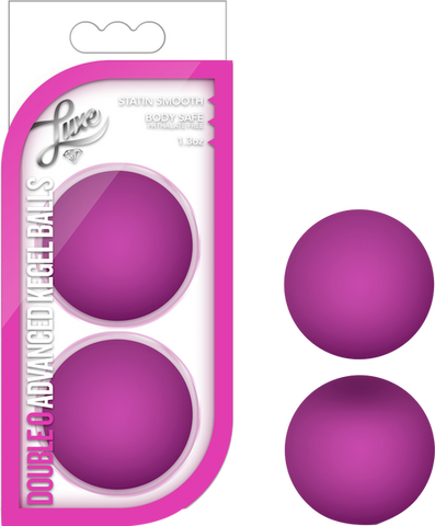 Double O Advanced Kegel Balls (Pink)