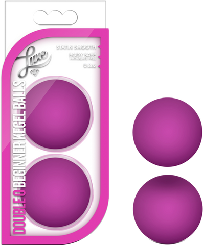 Double O Beginner Kegel Balls (Pink)