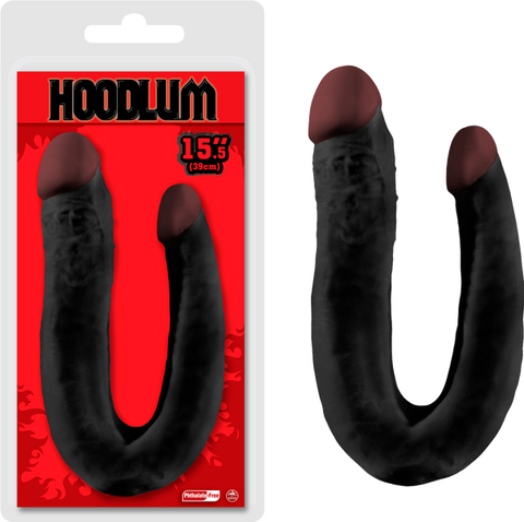 "15.5"" Double Dong (Black)"