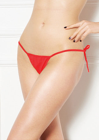 Plain Tie Side G-String - M