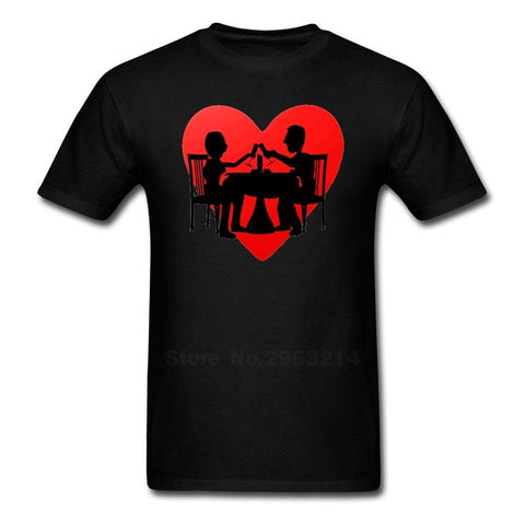 Valentines Day T Shirts Men Short Sleeve T-Shirt Fashion Oversize Shirt Top Clothes