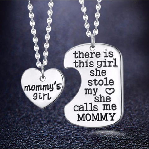 Mommy's Girl Charm Pendant (Shipped From USA) - babiesrhere
