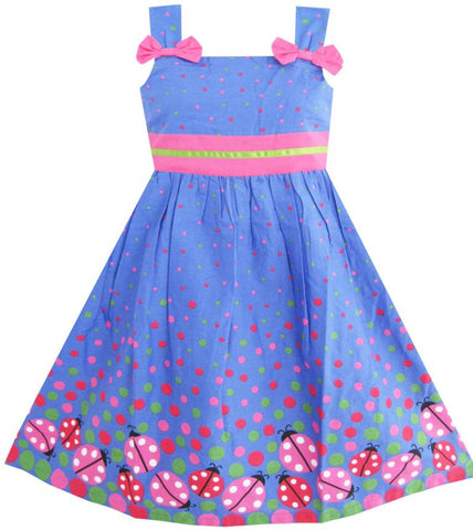 Girls Dress Children Clothing Cotton 2017 Summer Princess Wedding Party Dresses Clothes - babiesrhere