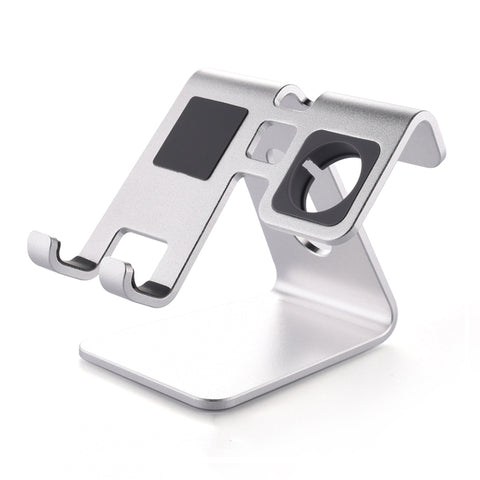 2 in 1 Desktop phone stand tablet watch stand cradle For Apple Watch stand all Android Smartphone - Babiesrhere