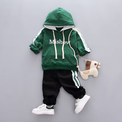 New autumn active casual kid suit children baby boy clothing girl boys clothing set - babiesrhere