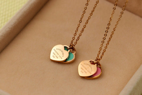 Fashion chain Necklace Pendant Women Jewelry Bridesmaid Charm Best Friends Gift for woman