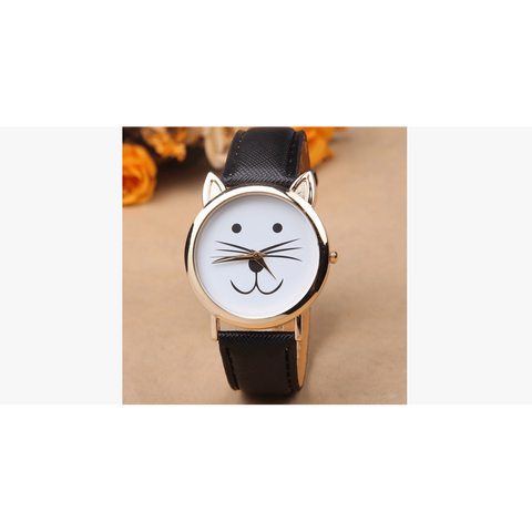 Cute Cat Trendy Watch (Shipped From USA) - babiesrhere